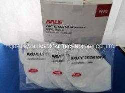 Hot Sale Stock confortable protection extérieure 5-masque jetable de couche de poussière sans valve KN95/FFP2