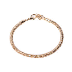 Горячая продажа золотых ювелирных изделий моды веревки браслет
