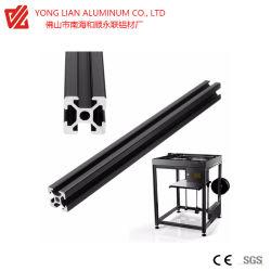 Profil d'extrusion en aluminium à usage industriel à fente en T
