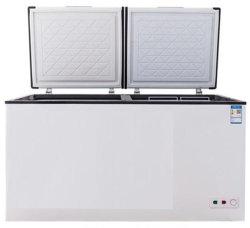 Haut de page à thorax ouvert réfrigérateur congélateur réfrigérateur congélateur coffre de la poitrine