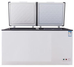 La parte superior del pecho abierto nevera refrigerador congelador horizontal cámara de ultracongelado pecho