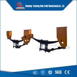 La fábrica de piezas de remolque Jinda Suspensión mecánica 55ton el sistema de suspensión Trailer de la suspensión de la dirección a la venta