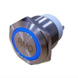 El tamaño corto Interruptor Pulsador para amplificador de audio