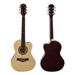 Mejor precio de fábrica China de colores para los estudiantes de guitarra acústica