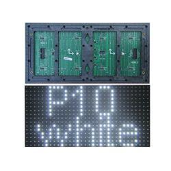P10 SMD 1W LED表示スクリーンの価格を広告するための白いTupe屋外の単一カラーLEDモジュール