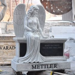 Marmorgranit-Grundstein-Engels-Denkmal (GSME-126)