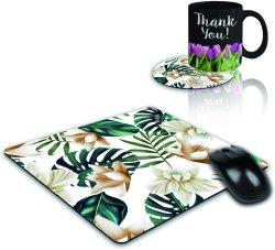 Custom Coaster avec logo en caoutchouc souple et tapis de souris Coaster ronde