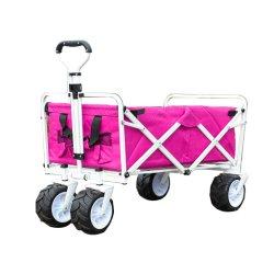Shareall-Terreno che piega il carrello piegante pieghevole resistente del vagone del vagone pratico