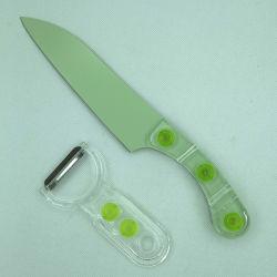 Acrylique Chef de Cuisine de la poignée du couteau dans le jeu de couteaux de cuisine