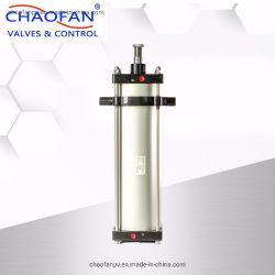كباس الألومنيوم من الفئة SC بكباس يعمل مزدوج يعمل بضغطات هوائية قياسية قابلة للضبط أسطوانة الهواء