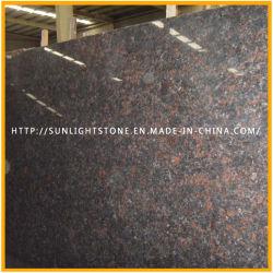 Barata tan pulidas losas de granito marrón para encimera/Vanitytop/Piso/Pavimentación