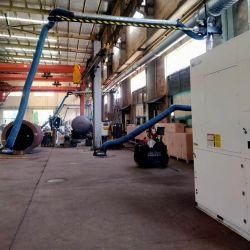 Soldadura Dedusting Integral Sistema de eliminación del polvo del brazo de aspiración de la viga de taller de dispositivo