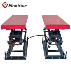 Гидравлические платформы в землю схождения колес автомобиля ножничного подъемника поднимите 3.5t по продажам (SS-3500TSS)