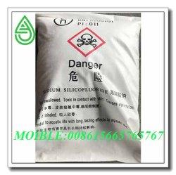 El sodio Silicofluoride (SSF) con el polvo de cristal blanco y el 99.00% de pureza