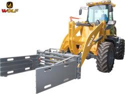 2,800kg의 적재 용량을 갖춘 Wolf Bulldozer 휠 로더