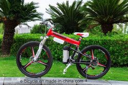 Корпус из магниевого сплава 6-спицы колеса города утвержденном CE горных велосипедов с электроприводом