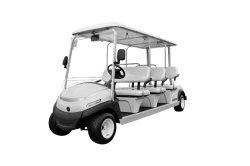 Hot Sale 6 places voiturette de golf électrique pour le parcours de golf