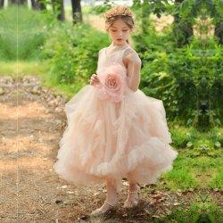 Les enfants de la Robe princesse Pettiskirt fille aux fleurs de mariage robe de soirée