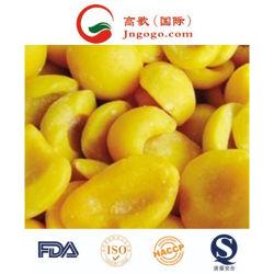 ホットセールの競合価格 IQF 冷凍果物とイエローピーチ