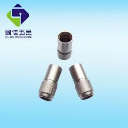 Connecteur pour casque audio sur le fil de mise à niveau du filetage de cuivre Shell décoratif