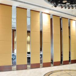 Colgante de madera Operable tabiques móviles insonorizados para Hotel