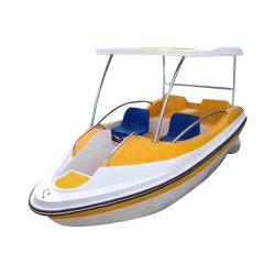 La clásica 4-5 Personas barco eléctrico alimentado por batería para el Parque Acuático