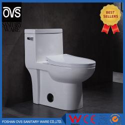 Salle de bains Cupc occidentale moderne de certificat s'allongent un morceau de toilettes