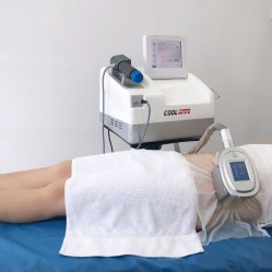 Горячая продажа Cool Cryotherapy салон машины с Shockwave