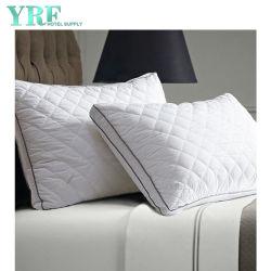Anti-Bacterial único regulable en altura cubiertas de tela de poliéster Hotel sana y segura almohada