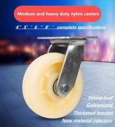 De middelgrote en Op zwaar werk berekende Nylon Industriële Gietmachines van 4 Duim