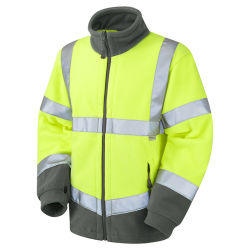 Veste polaire Hi Vis réfléchissant Vêtements de sécurité pour l'homme