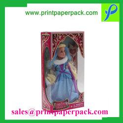 Casella di finestra di lusso su ordinazione del regalo del mestiere di carta con Inners per l'estetica/il profumo/Skincare/giocattolo che impacca, contenitore di imballaggio della visualizzazione del cartone