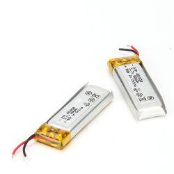 エムピー・スリーMP4プレーヤーのための3.7V 80mAhのリチウムポリマー電池401030