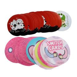 관례에 의하여 인쇄되는 아이들 교육 플래시 카드 기억 장치 게임 카드
