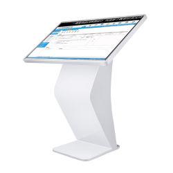 55'' Contacto Kiosko multimedia, un lector de pantalla