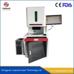 3Watt 5 watt 10 watt 355nm UV máquina de marcação a laser de segurança fechado dons cristal do Anel