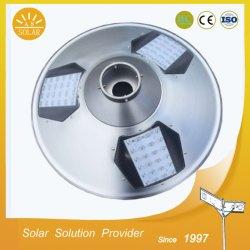 UFO の設計 15W リチウム電池が付いている 1 つの統合された太陽通りライトの太陽庭のライト