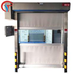 Tecido de PVC perfeito desempenho de vedação da porta do Obturador de alta velocidade para o depósito