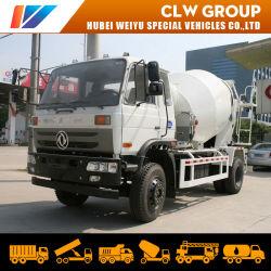 5m3 6cbm Mezclador de concreto camión de Dongfeng cisterna de cemento de la carretilla de transporte 6toneladas 8toneladas a bajo precio de fábrica