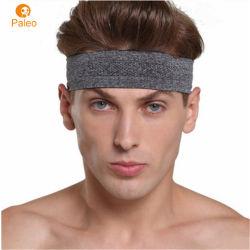Fascia dei capelli di Wicking del sudore per l'elastico funzionante di yoga di forma fisica di sport