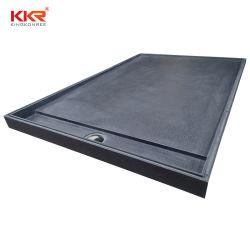Cassetto di superficie solido antiscorrimento dell'acquazzone della pietra della resina acrilica