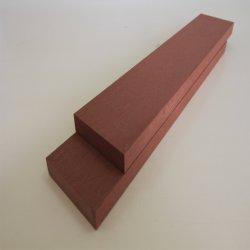 Europea de alta calidad compuesto de plástico madera acogió techado fuera de WPC techado de madera