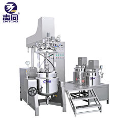 ZtCS500Lの真空の均質化の乳化剤機械(油圧上昇のタイプ)乳状になる機械