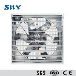 Оцинкованный Рама выпускного осевой вентилятор системы охлаждения для промышленных птицы фермы