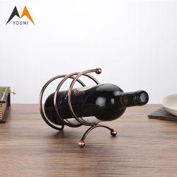 Professional paroi en acier inoxydable de haute qualité monté en rack de vin