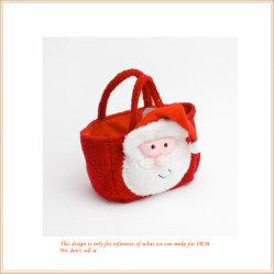 La felpa Bolso Bolso Bolsa de Festival de Navidad dulces