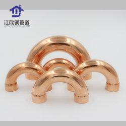 Colector de cobre R140R22 tubo de refrigeração MONTAGEM P-Trap U-Dobrar