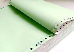 Boek Zonder koolstof van de Rekening van het Document van de Vorm van de Computer van de douane het Geschikt om gedrukt te worden Ononderbroken