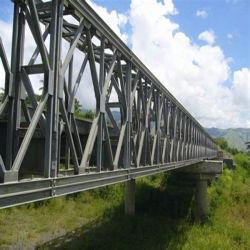 Custom Prefab prefabricados estruturais de aço inoxidável Estrutura Ponte Pedonal da estrutura de aço da ponte pedonal da cidade