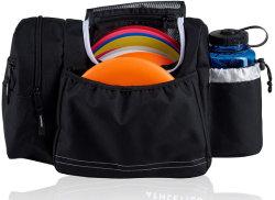 Kundenspezifischer Platten-Golf-Beuteltote-Beutel für Frisbee Gol/, Einflüsse 10-14 Platten/Wasser-Flasche und Zubehör